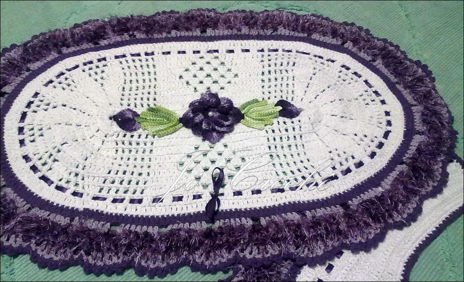 Jô Crochê: Jogo de Banheiro #2E213E 1600x972 Balança De Banheiro G Life