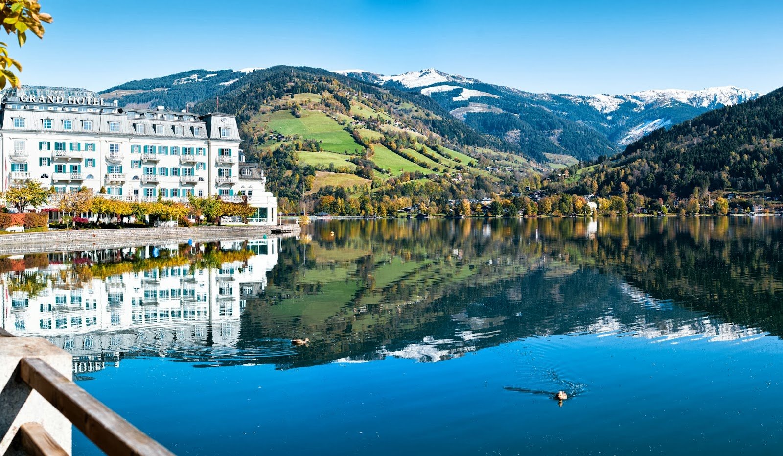 Grand hotel zell am see austria luxury 4 2 hotel for Designhotel zell am see