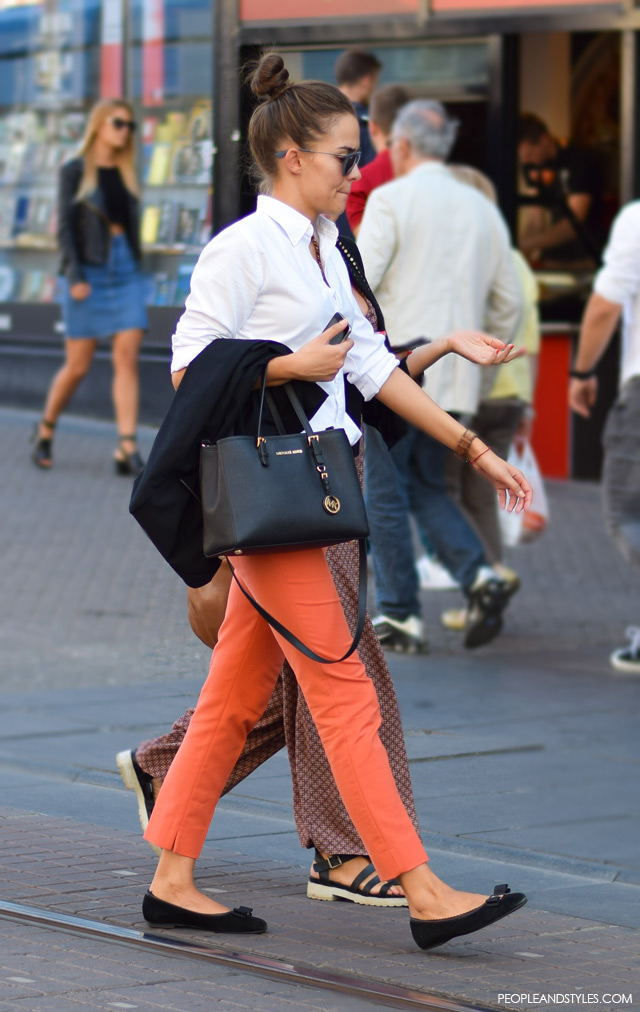 Preppy weekend look, Street style, ulična moda rujan 2015, Zagreb by peopleandstyles.com