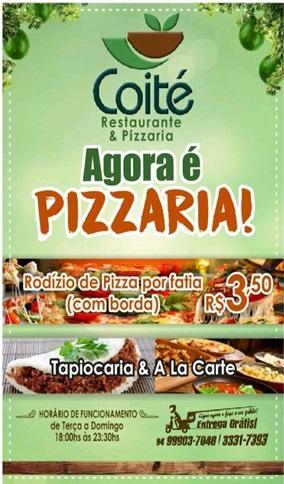 ASSÚ: Coité Restaurante e pizzaria