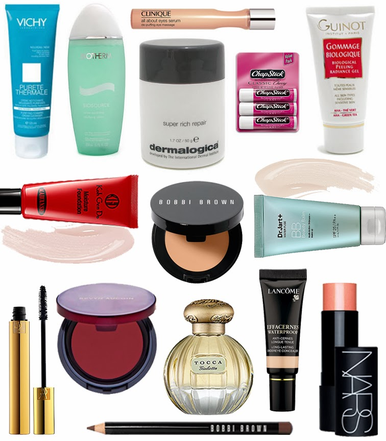 Beauty favorites skin care makeup