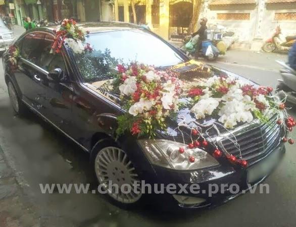Cho thuê xe cưới Mercedes S550 Vip tại Hà Nội