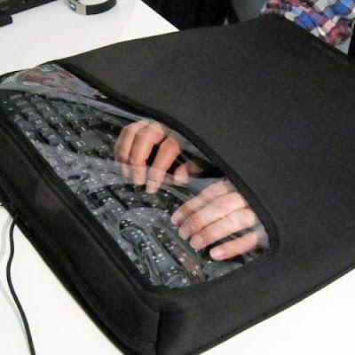 Глушитель для снижения уровня шума клавиатуры