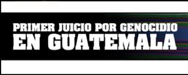 Boletin información Caso Genocidio Guatemala