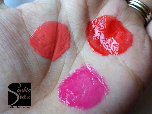 Lip Gloss la Jolie n°1, n°8 n°2
