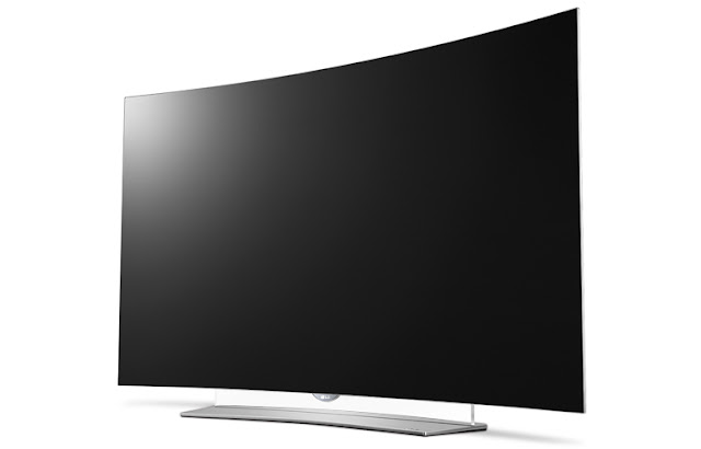 LG 4K Curved OLED TV