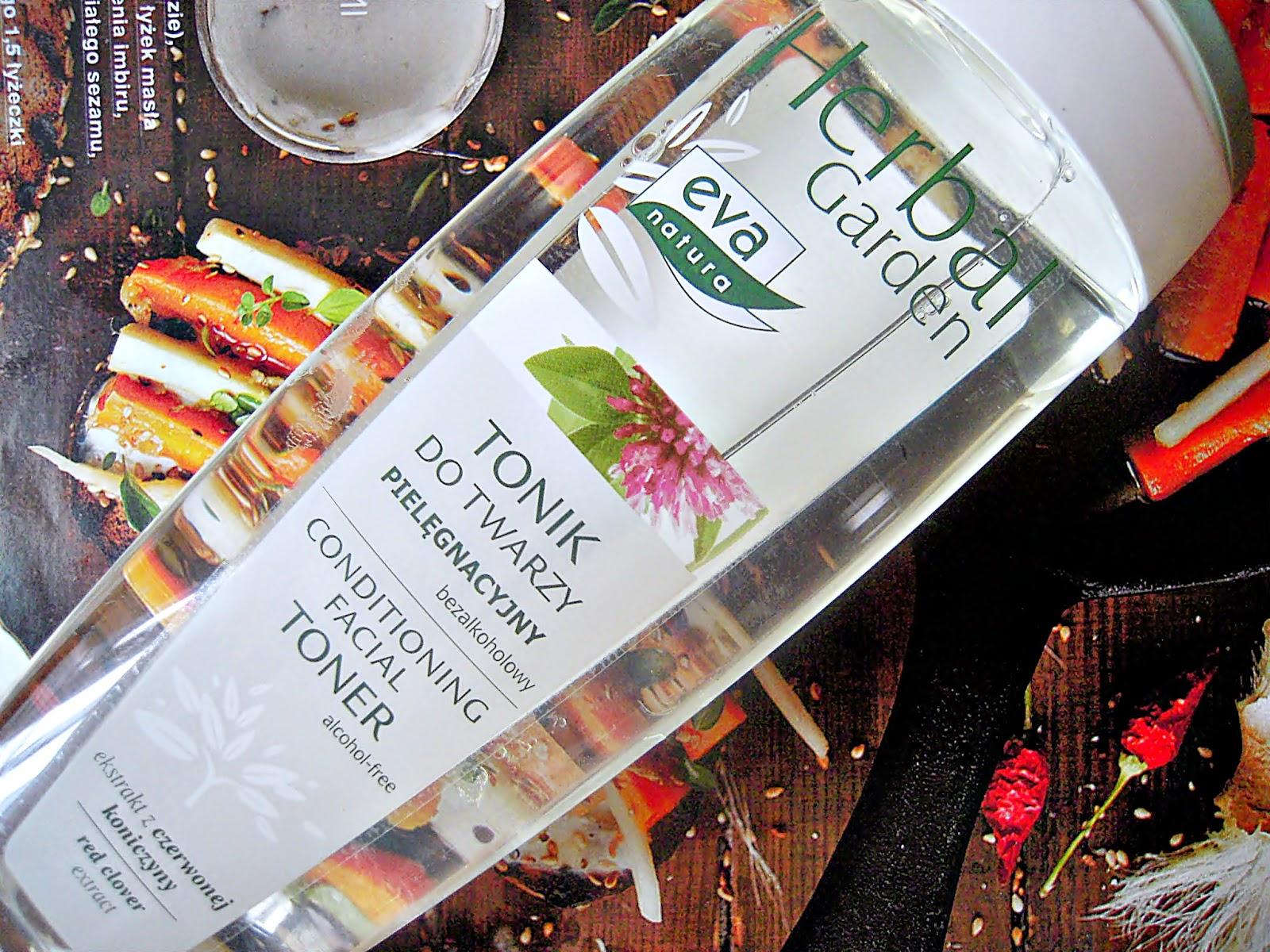 herbal garden, tonik do twarzy, tonik z koniczyną