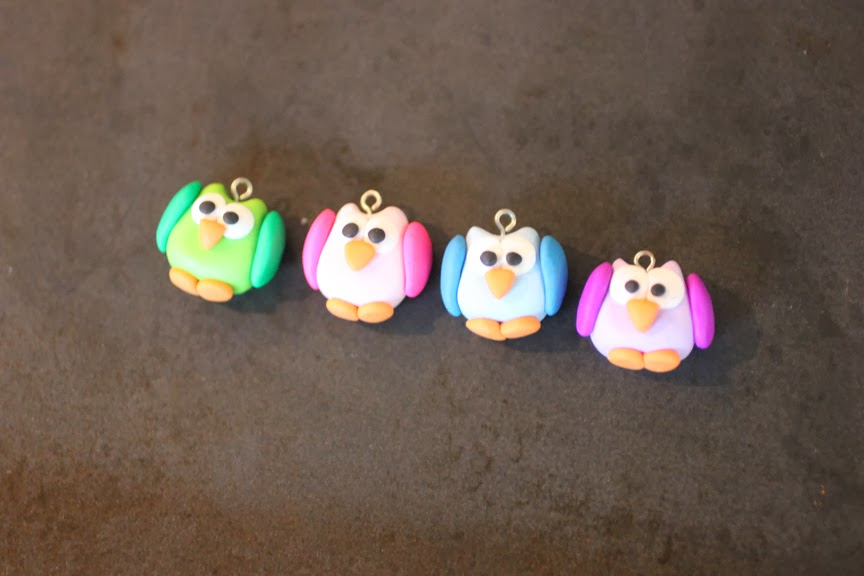 Diy Owl Stitch Markers With Polymer Clay Repeat Crafter Me