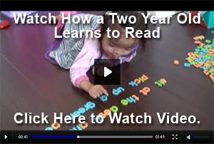 Watch This 2 Year Old Read!