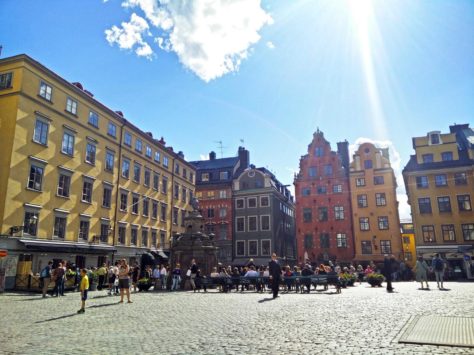 Square at Gamla Stan, Stockholm