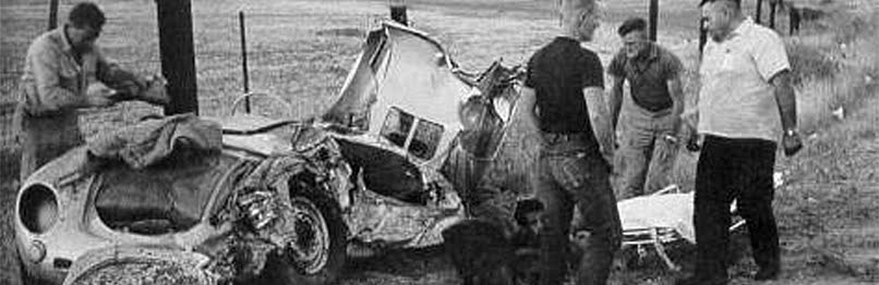 James dean death photo