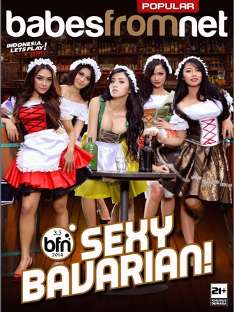 Download Majalah Babes From Net Season 3.3 (BFN 3.5) Special Edition Sexy Bavarian Popular-World Indonesia E-Magz : Chacy Luna (CHACY), Cintya Febriana (CINTYA), Hani Putri (HANI), Nadya Chairunnisa (NADYA) dan Tata Emunds (TATA)   | www.zone.downloadmajalah.com