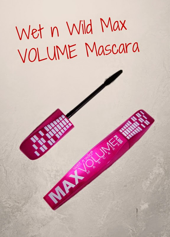 Wet N Wild Max Volume Plus Mascara Makeup plumps up your lashes and conditions with macadamia nut, jojoba and olive oil
