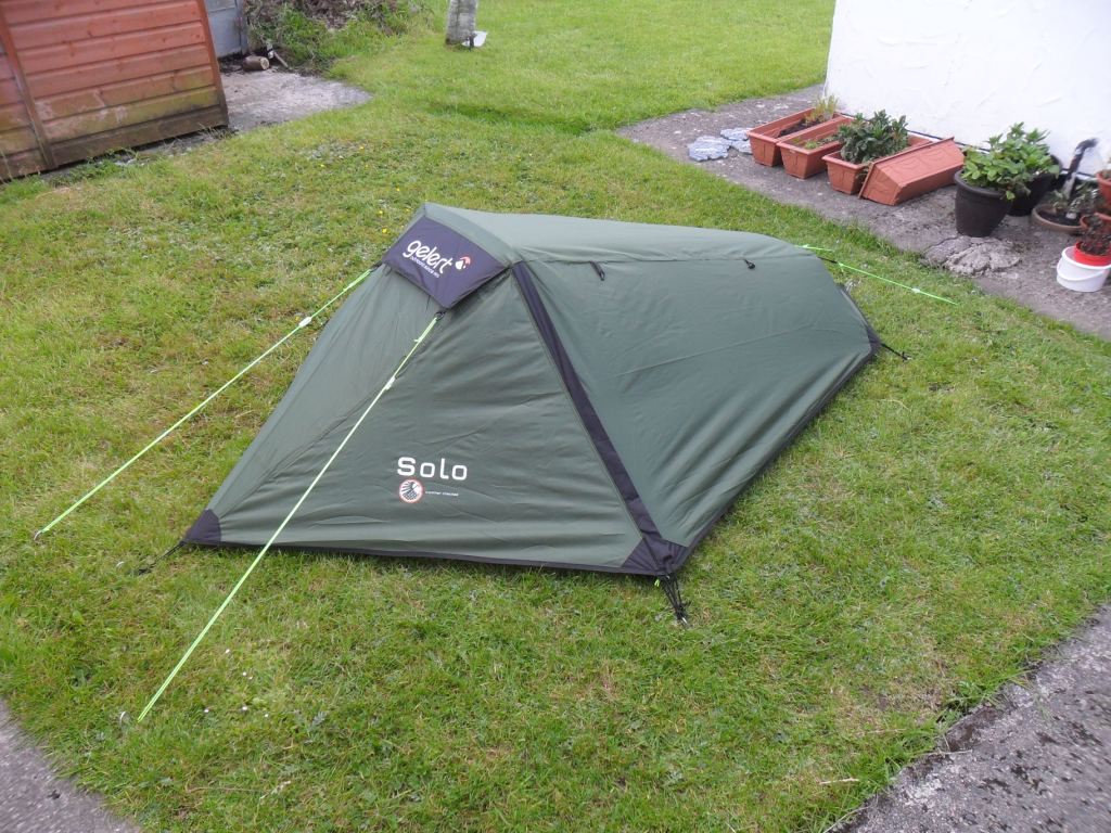 One Man Tent : Bicycles and the sea gelert solo man tent