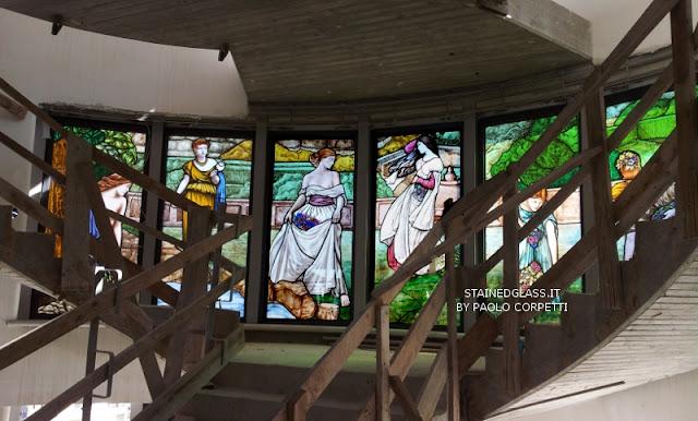 vetrate artistiche pitturate