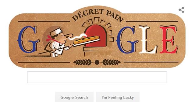 Google Doodle Baguette