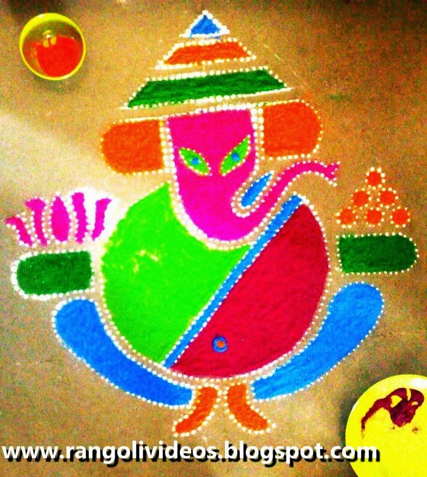 ganesha images for rangoli - photo #14