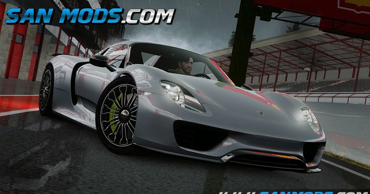 gta iv porsche 918 spyder 2015 san mods mods gta san andreas iv e v. Black Bedroom Furniture Sets. Home Design Ideas