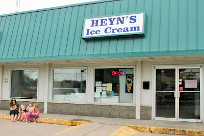 Top Iowa Hard Ice Cream:  Heyn's Ice Cream in Iowa City, Iowa