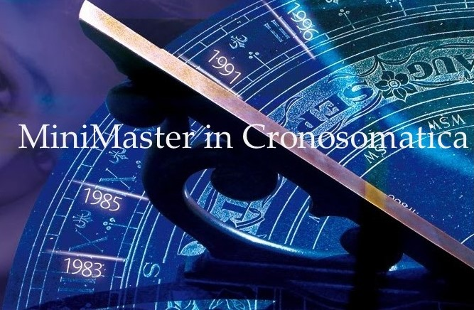Aprile 2020: MiniMaster  in Cronosomatica (Resilienza e stress)