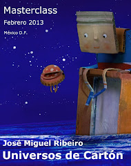Masterclass Stop Motion. Febrero 2013. México D.F.