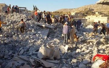 Estados Unidos provocam destruição e êxodo na Síria