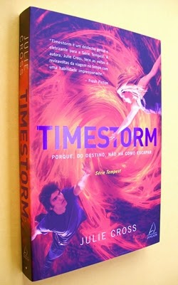 Timestorm - Série Tempest - Livro 3 - Julie Cross