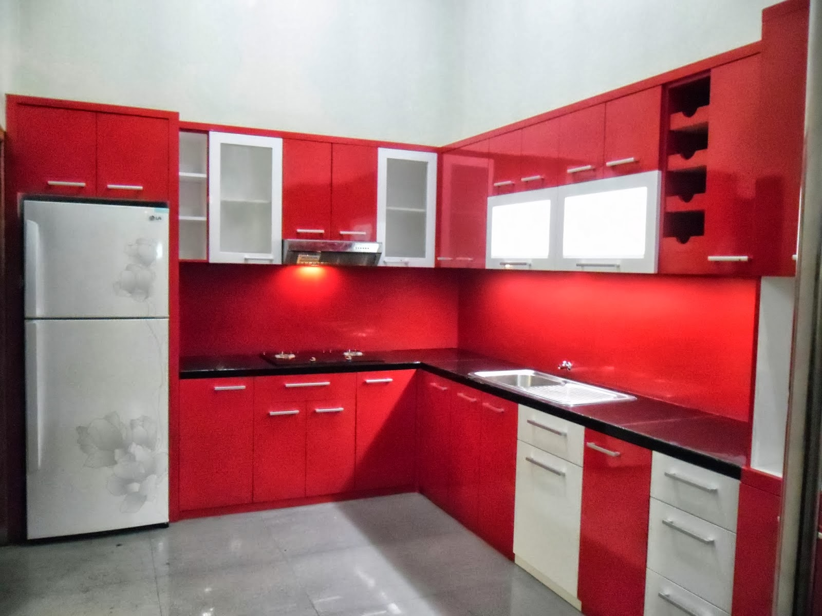 Jasa kitchen set minimalis murah dan terpercaya jual for Aksesoris kitchen set murah