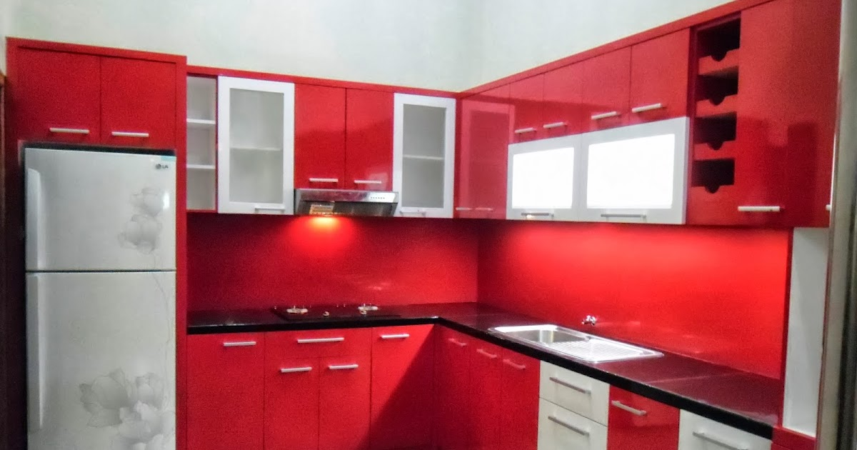 Jasa kitchen set minimalis murah dan terpercaya jual for Bikin kitchen set murah