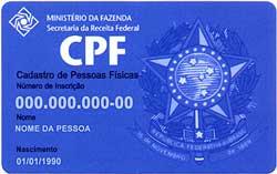 FAZER CPF