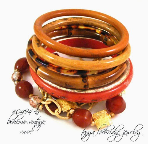 Tanya Lochridge Jewelry Carnelian & Gold Vermeil Gemstone Bracelet