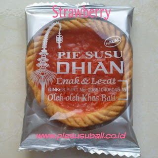pie susu dhian rasa strawberry