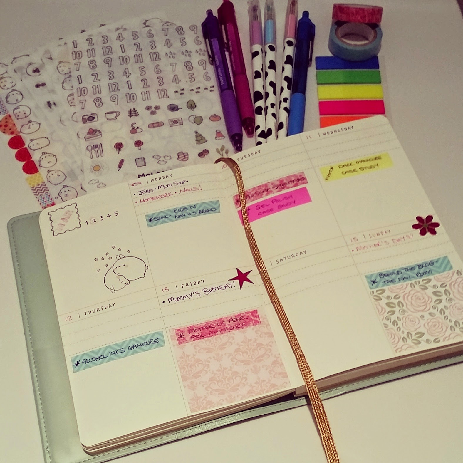 molang-diary-planner-journal-blogger