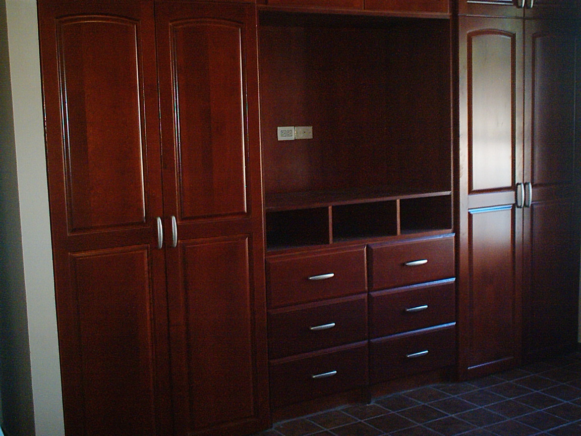 Gabinetes williams creaciones propias closets for Closet modernos armables