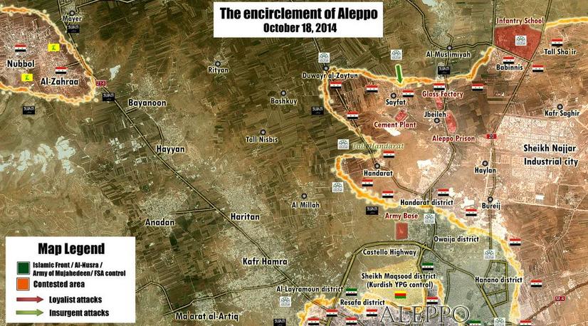 متابعة مستجدات الساحة السورية - صفحة 4 The%2Bencirclement%2Bof%2BAlleppo%2Bby%2BSyrian%2BArab%2BArmy%2B1