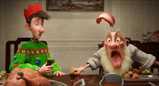 Operación Regalo (Arthur Christmas) es la primera película dirigida por una mujer, Sarah Smith, en Aardman