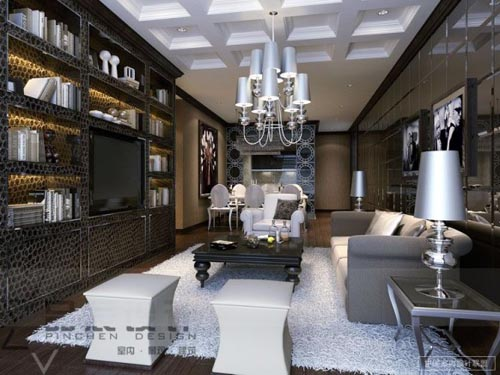 The passionate re designer live in room for Glamorous living room ideas