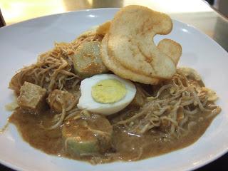 Makanan Khas Indonesia Menggunakan Bumbu Kacang - ketoprak