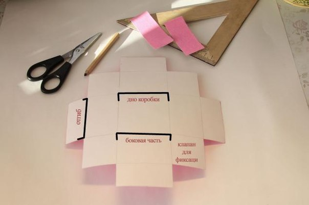Как сделать легко коробку