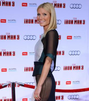 gwyneth paltrow no panties