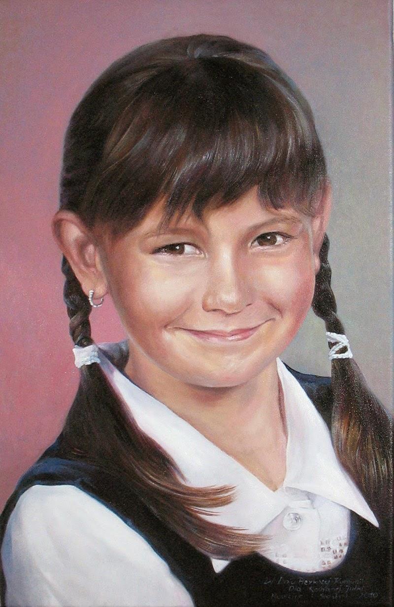 portrett av en jente