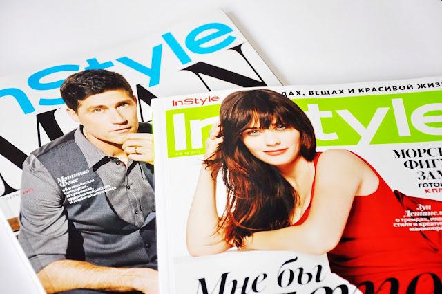 свежий журнал Instyle