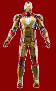 . Iron Man 3. Straight up I am NOT a fan of this suit. (hasbro arc strike iron man)