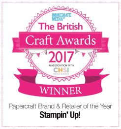 STAMPIN' UP! WINS AWARD