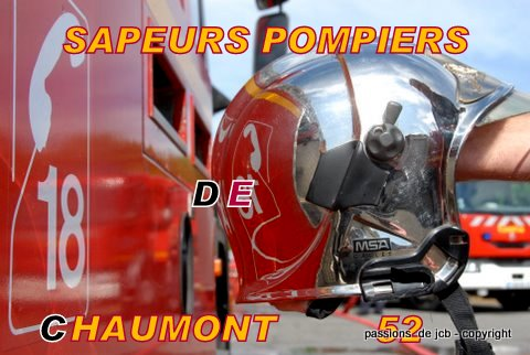 SAPEURS POMPIERS DE CHAUMONT