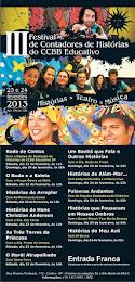 III Festival de Contadores de Histórias CCBB/SP
