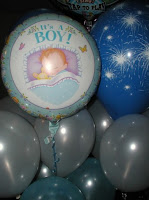 Balloon Bouquets For Boy Baby Shower6