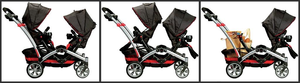 holiday gift guide kolcraft contours optima tandem stroller review silent auction. Black Bedroom Furniture Sets. Home Design Ideas