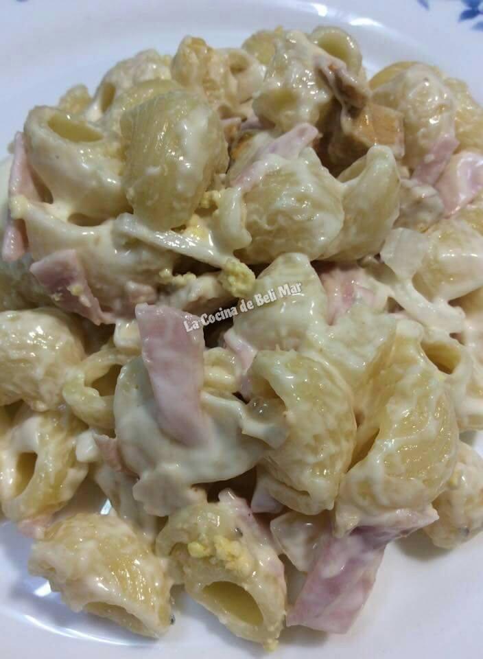 La cocina de beli mar ensalada de pasta fresca y sencilla - Ensalada fresca de pasta ...