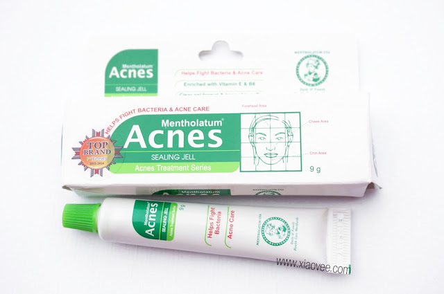 Acnes Sealing Jell Review, Mentholatum Acnes Sealing Jell, Review obat jerawat